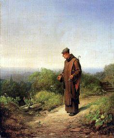 Amorous monk