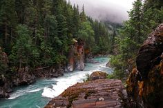 Headwaters of the Upper Fraser River,  British Columbia, Canada