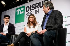 """""""I get asked a lot... is this another dot-com bubble"""" said Mona El Isa, the chief executive and co-founder of Melonportonstage at TechCrunch Disrupt Berlin..."""