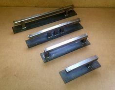 Steel Door Handle Industrial Door Handle Modern Sliding Barn | Etsy