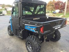 New 2017 Polaris RANGER XP 1000 EPS Northstar HVAC Editio ATVs For Sale in Pennsylvania. 2017 Polaris RANGER XP 1000 EPS Northstar HVAC Edition Velocity Blue, Click for Pricing! No Freight or Setup Fees! Northstar HVAC Edition Velocity Blue World s Most Powerful UTV with 80 HP The World's Most Utility Power with the Precision of Class Exclusive Throttle Control Modes Northstar Edition Features: Premium Pro-Fit Cab, Fixed Glass Windshield with Wiper, Rear Glass Panel, Dome Light, Rearview…