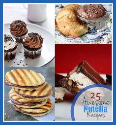 25 Awesome Nutella Recipes