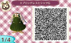 "omochi-ac: ""Pinafore Dress 1  エプロンドレス(緑) """