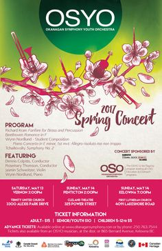 OKANAGAN SYMPHONY YOUTH ORCHESTRA.80 MUSICIANS CLOSE OFF SEASON WITH CONCERT SERIES. @OSYouth, @OkSymphonyOrch, #OkanaganSymphonyYouthOrchestry, #OkanaganMusic, #OkanaganNews, #OSYO,