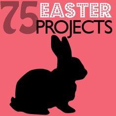 Round up of 75 great Easter crafts to make from Saved By Love Creations