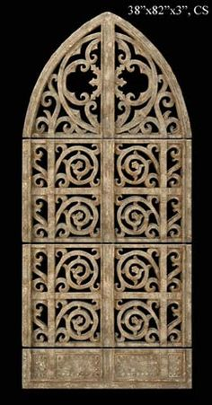 "Garden Gate Wall Decor wall plaques french gate 86""h x 45 ""w x 4 ""d 