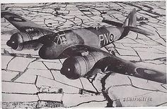 BEAUFIGHTER PROP PLANE VINTAGE MILITARY AVIATION PHOTO PRINT - K-townConsignments Aircraft Photos, Ww2 Aircraft, Military Aircraft, Bristol Beaufighter, Bomber Plane, Ww2 Planes, Royal Air Force, Wwii, Fighter Jets