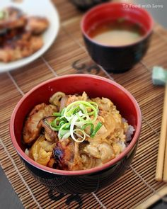 Grilled Miso Chicken Don