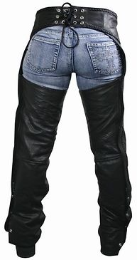 <b>Xelement 7701 Women's Black Braided Leather Chaps</b><br><br>It doesn't get better than these Braided Black Leather Chaps for women. Built to last these chaps are made of premium cowhide leather that is scuff resistant. Taking these on and off couldn't be any easier, the chaps feature high quality zipper and snap button closures. Braided leather accents add a special touch. The chaps are even fully lined to prevent the leather from staining your pan...
