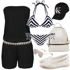 Sommer Outfit Beachgirl zum Nachshoppen