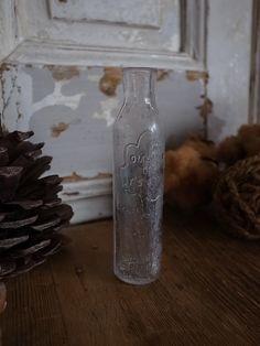 アンティークガラスボトル
