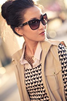 Love how @wendynguyen incorporates #stelladot Sierra Necklace into this chic outfit http://www.stelladot.com/csinclair