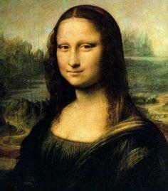 모나리자 - 레오나르도 다빈치  1503년경-1505년. 루브르 박물관.  이 작품은 피렌체의 부호 프란체스코 델 조콘다를 위하여 그의 부인을 그린 초상화입니다. 아마 가장 유명한 작품이라 해도 과언이 아닐 것입니다. 또 그만큼 이 작품에 얽힌 주장과 미스테리가 많습니다. 신비로우면서 편안한 미소가 매력적입니다.