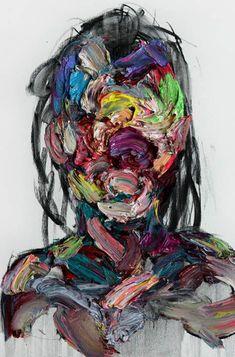Colorful Faceless Paintings : KwangHo Shin