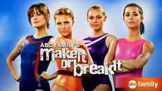 #instantnetflix #makeitorbreakit LOVED this show @abcfamily. My 4 year old loved it show much she is even watch old episodes again.