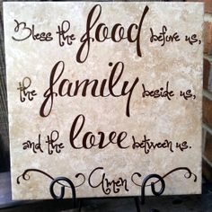 Bless This Family Quote Tile  Ceramic Tile  Perfect by gotdecalz