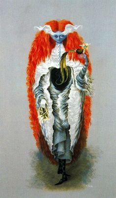 Witch Going to the Sabbath — Remedios Varo