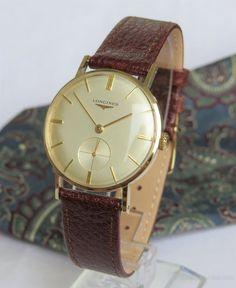 Vintage Watches For Men, Luxury Watches For Men, Longines Watch Men, Latest Watches, Men's Watches, Mens Sport Watches, Hand Watch, Carat Gold, Men Necklace