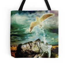 """""""Free at Last"""" Tote Bag. Also available as T-Shirts, Hoodies, Prints, Cards, Posters & much more!"""