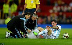 Chấn thương của Di Maria khiến Man Utd lo sốt vó