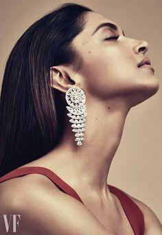 Gorgeous Deepika Padukone for Vanity Fair UK on Jewellery August 2017 issue
