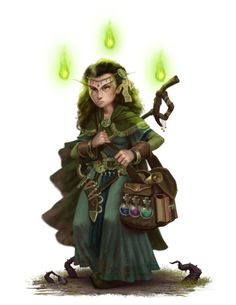 Here are some characters done for the Haunted Heroes Handbook for Pathfinder. by Forrest Imel