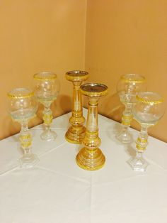Candle holders available  for rent by missJs