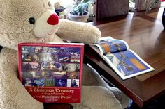 1000pc Puzzle - 'A Christmas Treasury' Puzzle and Book Set - signed with art by Greg Hildebrandt