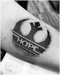 50 Rebel Alliance Tattoo Designs For Men - Star Wars Symbol Ideas - Guys Rebel Alliance Hope Inner Arm Bicep Tattoo Deisgns - Star Tattoos For Men, Arm Tattoos For Guys, Trendy Tattoos, New Tattoos, Game Tattoos, Yoga Tattoos, Tattoo For Son, Tatoos, Wolf Tattoo Design