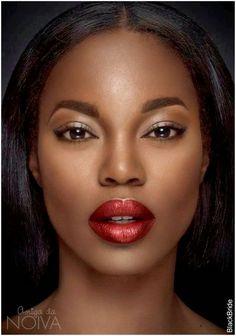 Resultado de imagem para maquiagem pele negra noite