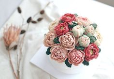 Peonyㅡ2016.07 D.Story Cake #7월 #꽃모닝 #lovely #sweet #cake #디저트 #koreandessert #food #데일리푸드 #떡케이크 #케이크스타그램 #앙금플라워떡케이크 #flowers #instacake #wilton #dailygram #예쁘다💕 #buttercream #flores #수제케이크 #간식 #주부스타그램 #취미 #베이킹 #bakingtime #peony