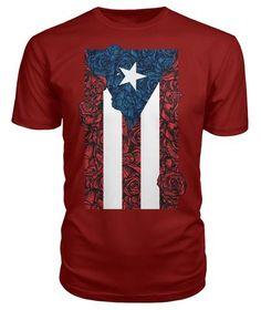 Vintage Distressed Puerto Rico Flag Toddler Girls T Shirt Kids Cotton Short Sleeve Ruffle Tee