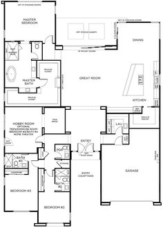 Barndominium Floor Plans Ideas to Suit Your Budget Bardominium floor plans - tiny barndominium - strong barndominium - barndominium on the budget - best barndominium design - durable barndominium Barn House Plans, Ranch House Plans, New House Plans, Dream House Plans, Small House Plans, House Floor Plans, The Plan, How To Plan, Pardee Homes