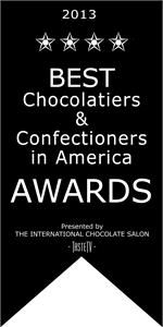 GREAT NEWS!! Luxx Chocolat was chosen as one of the 2013 Best Chocolatiers & Confectioners in America!  THANK YOU ALL!     To celebrate I'm having a special promotion! 10% off through Jan 15th on everything on the website, including my handcrafted jewelry! Just put in BestChoc in the coupon code at checkout