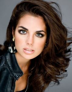 brunette hair colors for fair skin with hazel eyes - Google Search