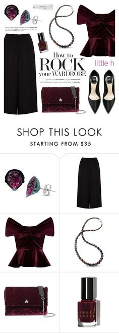 """""""Rock your wardrobe with Little h Jewelry"""" by littlehjewelry ❤ liked on Polyvore featuring Somerset by Alice Temperley, Emilio De La Morena, Lanvin and Bobbi Brown Cosmetics"""