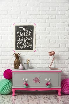 DIY: How to cross stitch furniture | Mollie Makes