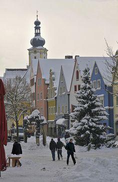 White days, Weiden in der Oberpfalz, Germany