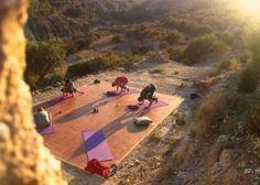 7 Days New Year Yoga Detox Retreat at Rustic Yoga Retreats Spain - #stiltime #yoga #newyear| LETSGLO