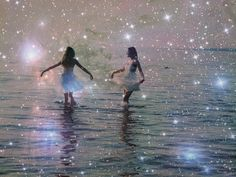 enchanted play- how cool would this be blown up in a teen age girls room or something with her best friends?
