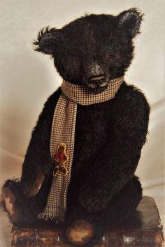 HANK the black bear By DREAM'S BEARS - Bear Pile