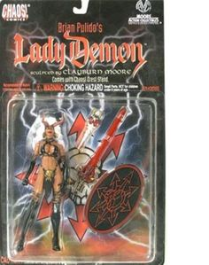 Brian Pulido's Lady Demon Collectable Action Figure  Lady Death Evil Incarnation #MooreActionCollectibles