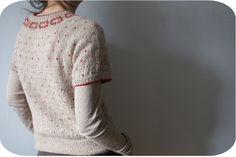 Fairisle Yoke Sweater by Debbie Bliss