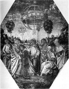 Hermes Trismegistus with the Zodiac Room of the Sibyls, Appartamento Borgia, Vatican