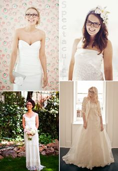 Stefan Sisters: Bridal Style - Glasses, Brides in Glasses Inspiration