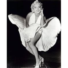 Marilyn Monroe Seven Year Itch Mini Poster