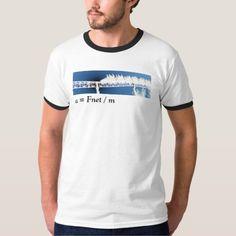 Roller Coaster Physics T-shirt 2.0