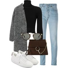 17 fresh looks with jeans and a sweater in ., Winter Outfits, 17 fresh images with jeans and a sweater, which is not ashamed to meet spring. Winter Fashion Outfits, Fall Winter Outfits, Autumn Winter Fashion, Fashion Tips, 90s Fashion, Cute Casual Outfits, Stylish Outfits, Casual Attire, Winter Mode