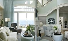 Comparisons of Sherwin Williams Tidewater, Sea Salt, and Comfort Gray House Color Palettes, House Color Schemes, Sherwin Williams Tidewater, Beach House Colors, Living Colors, Comfort Gray, House Of Turquoise, My Dream Home, Room Inspiration