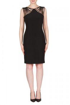 7b8faea6703e Joseph Ribkoff Black Dress Style 173028 Black Wedding Dresses